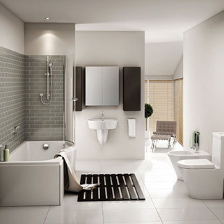 Escape Bathrooms Chard our customer services - total plumbing